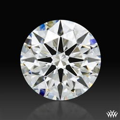 0.89 ct F SI1 A CUT ABOVE® Hearts and Arrows Super Ideal Round Cut Loose Diamond