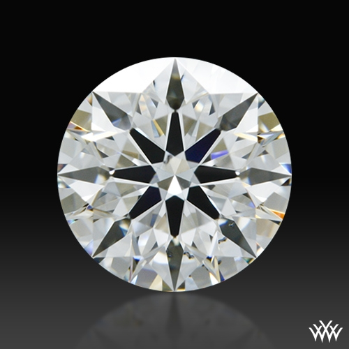 0.801 ct F VS2 A CUT ABOVE® Hearts and Arrows Super Ideal Round Cut Loose Diamond