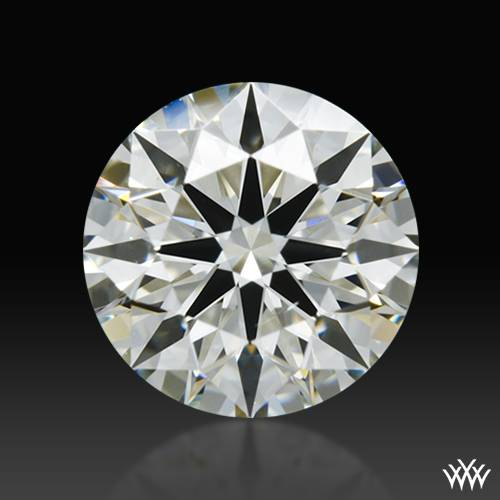 0.72 ct K SI1 A CUT ABOVE® Hearts and Arrows Super Ideal Round Cut Loose Diamond