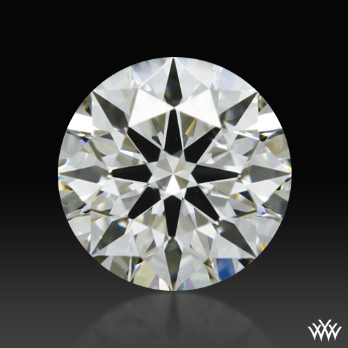 0.522 ct I SI1 A CUT ABOVE® Hearts and Arrows Super Ideal Round Cut Loose Diamond