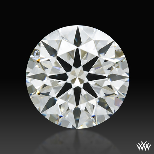 1.806 ct I SI1 A CUT ABOVE® Hearts and Arrows Super Ideal Round Cut Loose Diamond