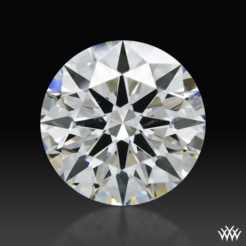 1.058 ct G SI2 A CUT ABOVE® Hearts and Arrows Super Ideal Round Cut Loose Diamond