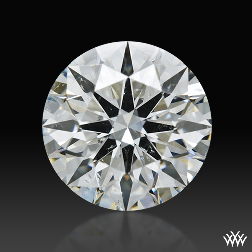 1.184 ct H SI2 A CUT ABOVE® Hearts and Arrows Super Ideal Round Cut Loose Diamond