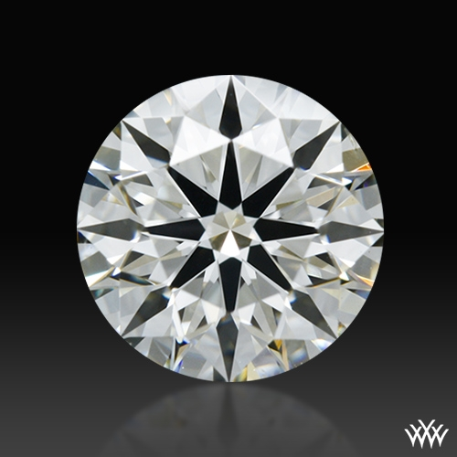 1.023 ct J SI1 A CUT ABOVE® Hearts and Arrows Super Ideal Round Cut Loose Diamond