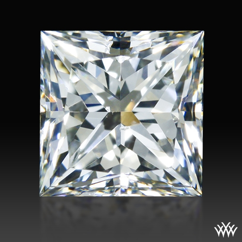 1.013 ct I SI1 A CUT ABOVE® Princess Super Ideal Cut Diamond