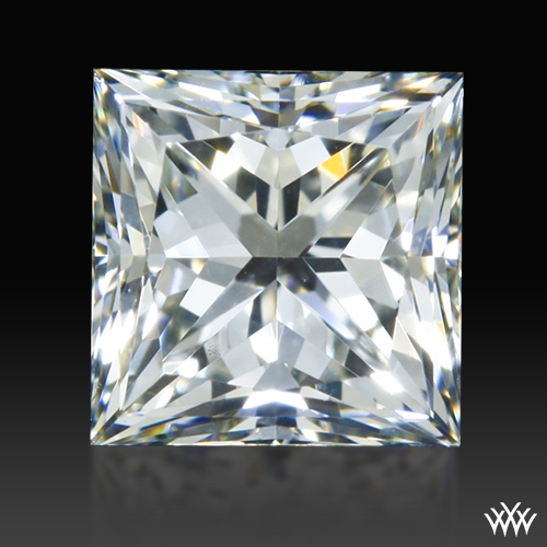 0.772 ct J VS1 A CUT ABOVE® Princess Super Ideal Cut Diamond