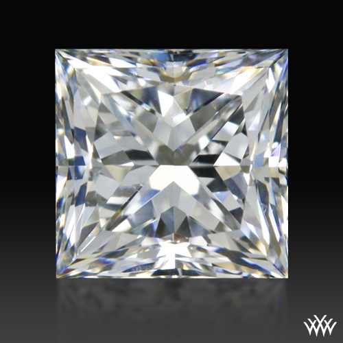 0.601 ct F SI1 A CUT ABOVE® Princess Super Ideal Cut Diamond