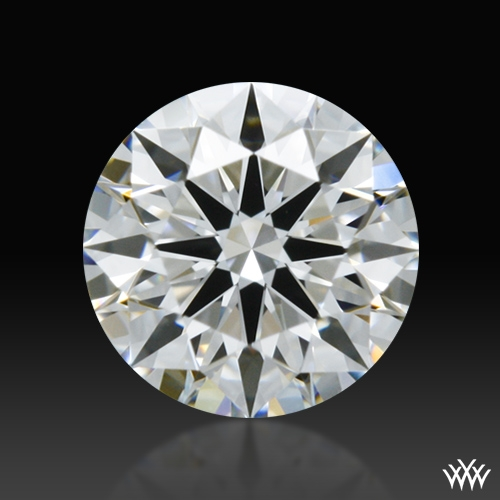 0.418 ct E VS1 A CUT ABOVE® Hearts and Arrows Super Ideal Round Cut Loose Diamond