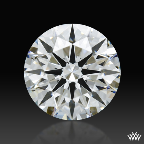 0.558 ct F VVS2 A CUT ABOVE® Hearts and Arrows Super Ideal Round Cut Loose Diamond