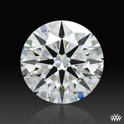 0.537 ct E VS1 A CUT ABOVE® Hearts and Arrows Super Ideal Round Cut Loose Diamond