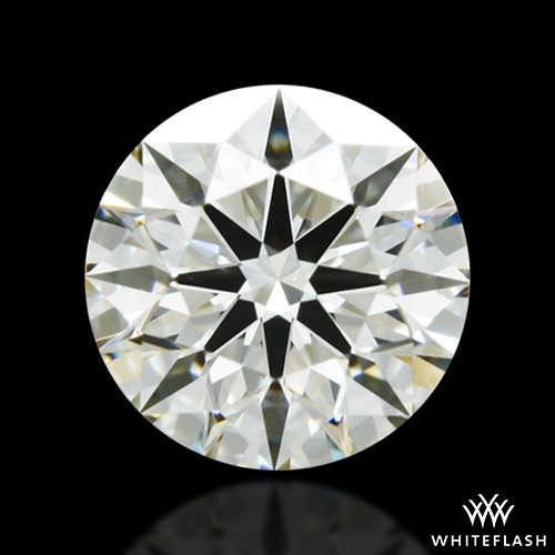 0.706 ct K VS2 A CUT ABOVE® Hearts and Arrows Super Ideal Round Cut Loose Diamond