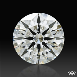 1.218 ct J SI1 A CUT ABOVE® Hearts and Arrows Super Ideal Round Cut Loose Diamond