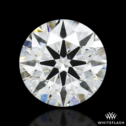 0.401 ct F VS2 A CUT ABOVE® Hearts and Arrows Super Ideal Round Cut Loose Diamond