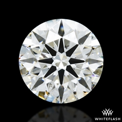 0.437 ct G SI1 A CUT ABOVE® Hearts and Arrows Super Ideal Round Cut Loose Diamond