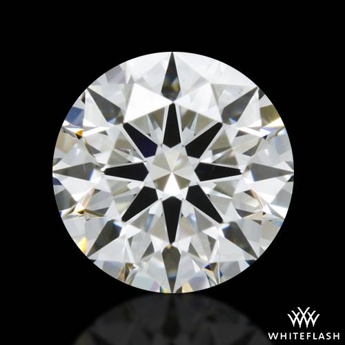 0.502 ct F VS2 A CUT ABOVE® Hearts and Arrows Super Ideal Round Cut Loose Diamond