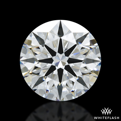 1.10 ct D IF A CUT ABOVE® Hearts and Arrows Super Ideal Round Cut Loose Diamond