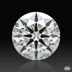 2.238 ct H SI1 A CUT ABOVE® Hearts and Arrows Super Ideal Round Cut Loose Diamond