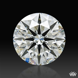 2.455 ct I SI1 A CUT ABOVE® Hearts and Arrows Super Ideal Round Cut Loose Diamond