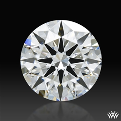 1.376 ct F VS2 A CUT ABOVE® Hearts and Arrows Super Ideal Round Cut Loose Diamond