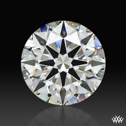 1.323 ct H VS2 A CUT ABOVE® Hearts and Arrows Super Ideal Round Cut Loose Diamond