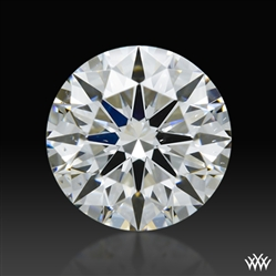 0.834 ct F VS2 A CUT ABOVE® Hearts and Arrows Super Ideal Round Cut Loose Diamond