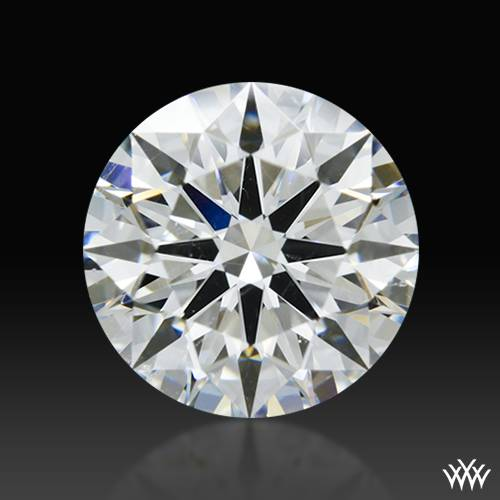 1.337 ct G SI1 A CUT ABOVE® Hearts and Arrows Super Ideal Round Cut Loose Diamond