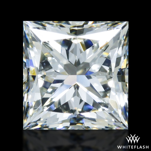 0.902 ct J VS2 A CUT ABOVE® Princess Super Ideal Cut Diamond