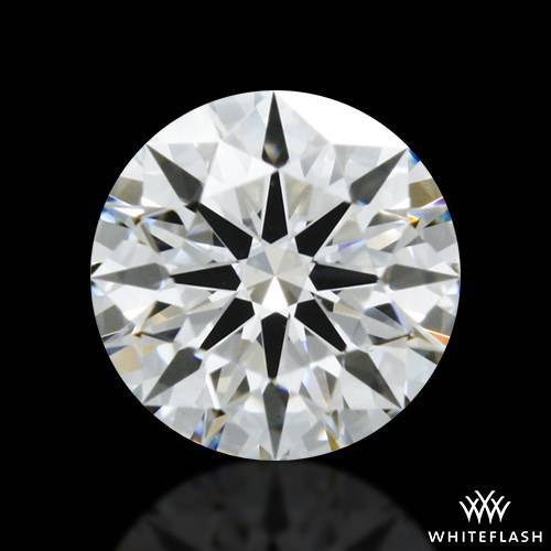 0.438 ct E VS2 A CUT ABOVE® Hearts and Arrows Super Ideal Round Cut Loose Diamond