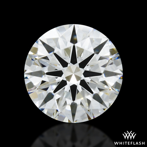 0.508 ct H VS2 A CUT ABOVE® Hearts and Arrows Super Ideal Round Cut Loose Diamond