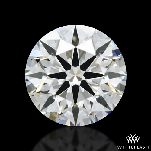 0.837 ct E VS1 A CUT ABOVE® Hearts and Arrows Super Ideal Round Cut Loose Diamond