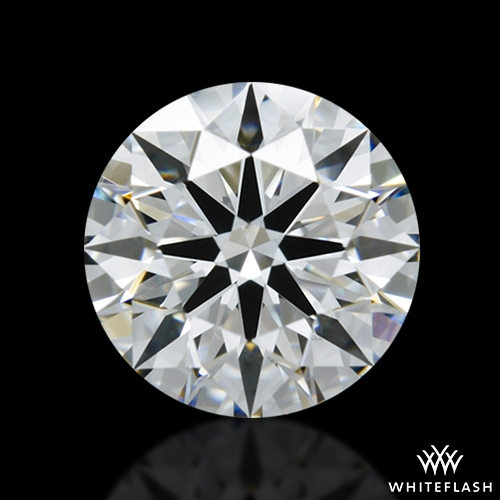 0.941 ct F VS2 A CUT ABOVE® Hearts and Arrows Super Ideal Round Cut Loose Diamond