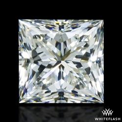 0.90 ct J VS1 A CUT ABOVE® Princess Super Ideal Cut Diamond