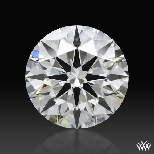 0.712 ct I SI1 A CUT ABOVE® Hearts and Arrows Super Ideal Round Cut Loose Diamond