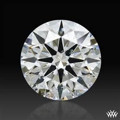 0.73 ct H SI2 A CUT ABOVE® Hearts and Arrows Super Ideal Round Cut Loose Diamond