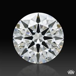 0.842 ct G SI2 A CUT ABOVE® Hearts and Arrows Super Ideal Round Cut Loose Diamond