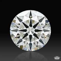 1.286 ct J SI1 A CUT ABOVE® Hearts and Arrows Super Ideal Round Cut Loose Diamond