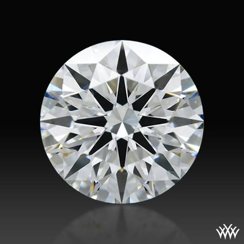 1.351 ct F SI1 A CUT ABOVE® Hearts and Arrows Super Ideal Round Cut Loose Diamond