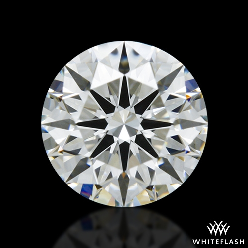 0.775 ct H VS1 A CUT ABOVE® Hearts and Arrows Super Ideal Round Cut Loose Diamond