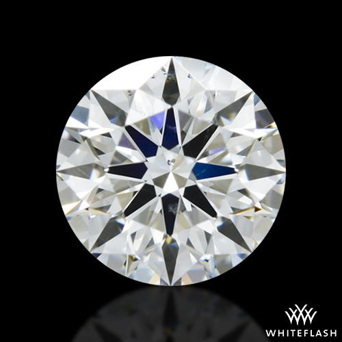 0.525 ct G SI1 A CUT ABOVE® Hearts and Arrows Super Ideal Round Cut Loose Diamond