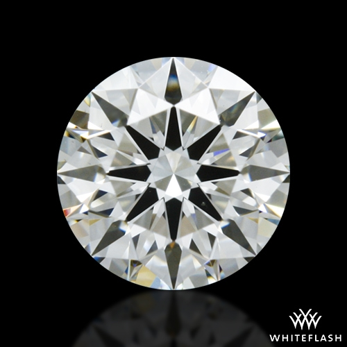0.612 ct H VS2 A CUT ABOVE® Hearts and Arrows Super Ideal Round Cut Loose Diamond