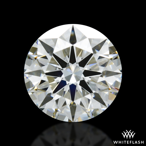 0.648 ct H VS2 A CUT ABOVE® Hearts and Arrows Super Ideal Round Cut Loose Diamond