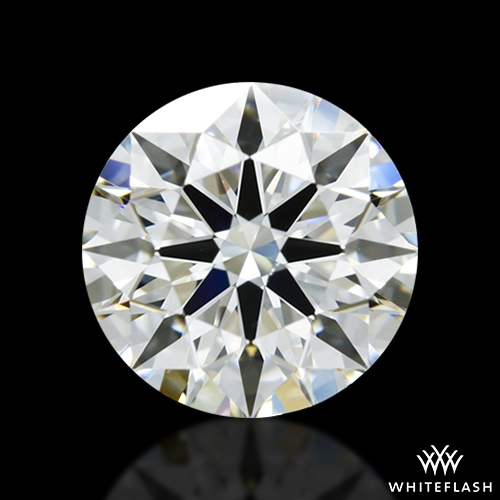 1.317 ct H SI1 A CUT ABOVE® Hearts and Arrows Super Ideal Round Cut Loose Diamond