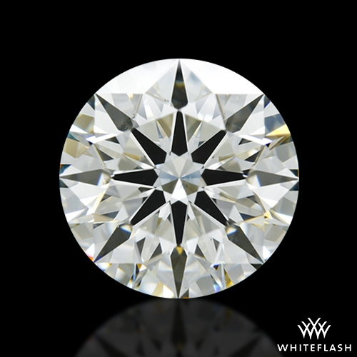 2.072 ct H SI1 A CUT ABOVE® Hearts and Arrows Super Ideal Round Cut Loose Diamond