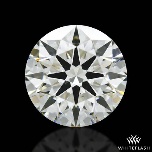 1.674 ct J SI1 A CUT ABOVE® Hearts and Arrows Super Ideal Round Cut Loose Diamond