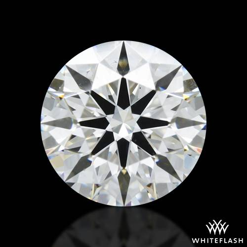 0.787 ct F VS2 A CUT ABOVE® Hearts and Arrows Super Ideal Round Cut Loose Diamond