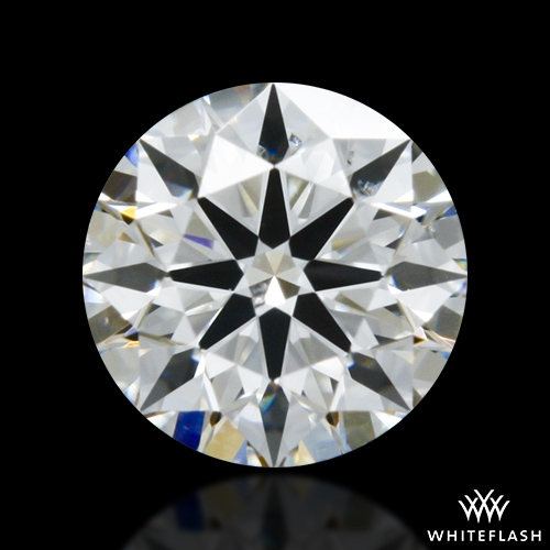 0.337 ct F SI1 A CUT ABOVE® Hearts and Arrows Super Ideal Round Cut Loose Diamond