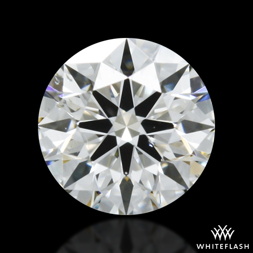 0.308 ct G SI1 A CUT ABOVE® Hearts and Arrows Super Ideal Round Cut Loose Diamond