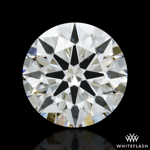 0.321 ct H SI1 A CUT ABOVE® Hearts and Arrows Super Ideal Round Cut Loose Diamond