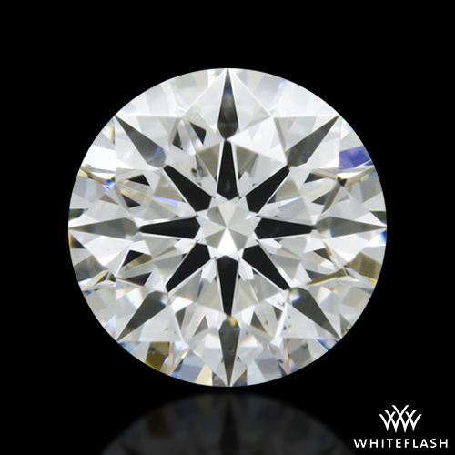 0.332 ct I SI1 A CUT ABOVE® Hearts and Arrows Super Ideal Round Cut Loose Diamond
