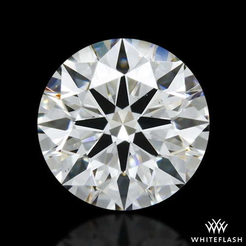 0.525 ct G VS2 A CUT ABOVE® Hearts and Arrows Super Ideal Round Cut Loose Diamond